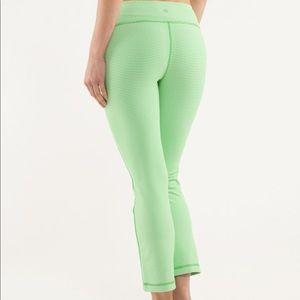 Lululemon Coast To Class Pant Green Gingham Print